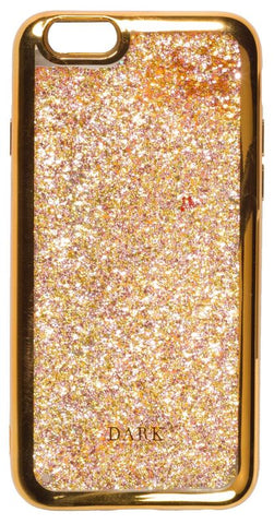 IPHONE COVER GOLDEN ROSE MIX W/GOLD EDGE