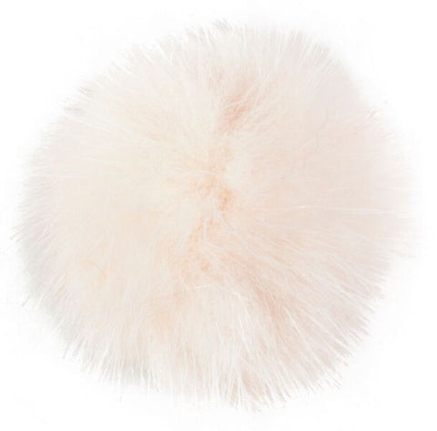 SHOE POM POM POWDER ROSE SMALL