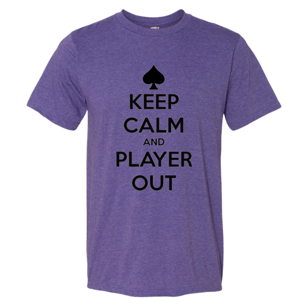 Short sleeve t-shirt Player Out