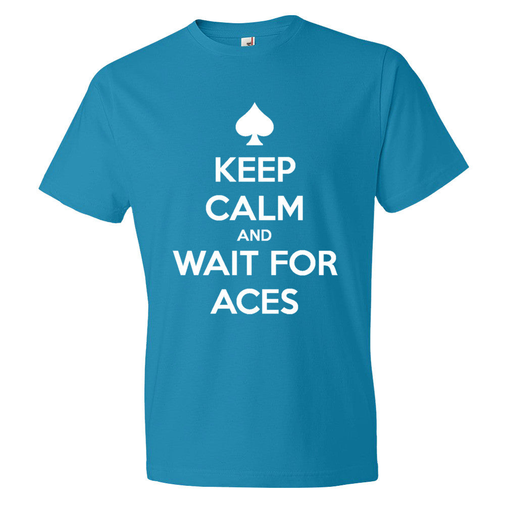 Short sleeve t-shirt Wait for Aces