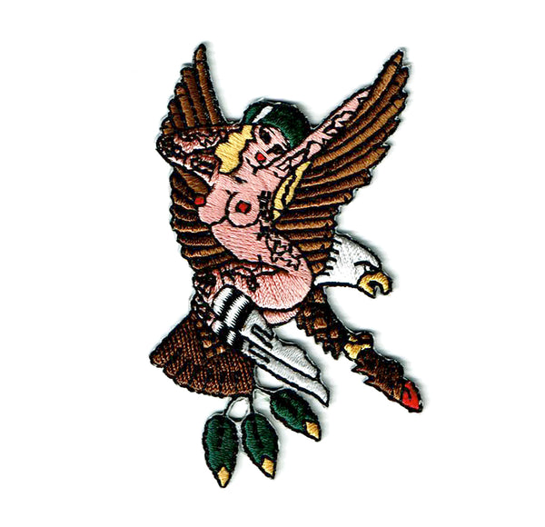 Eagle Pinup Patch