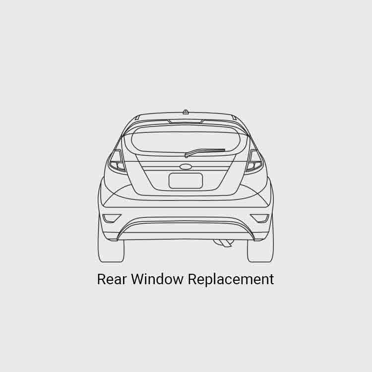 rear window replacement price list