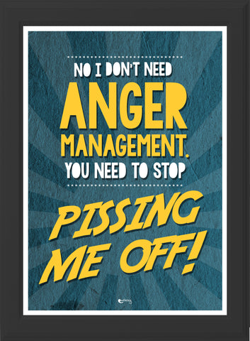 ANGER MANAGEMENT! (black frame)