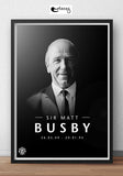 SIR MATT BUSBY! (white frame)