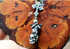 Angel Violin Skull Earrings - Holy Buyble