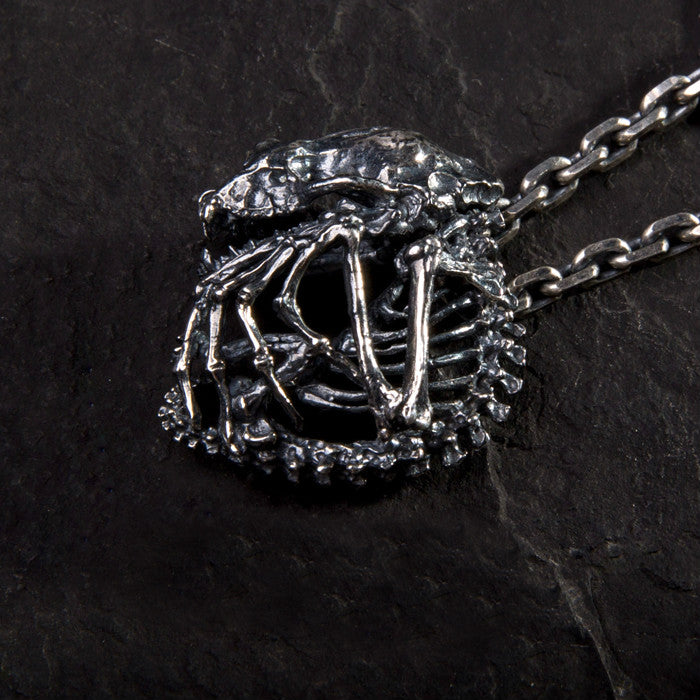 Bat Skeleton Necklace - Holy Buyble