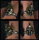 Bearded Spartacus Skull Ring - Holy Buyble