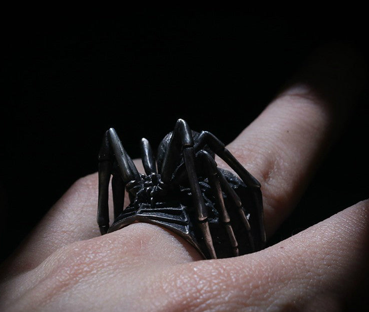 Black Widow Spider Ring - Holy Buyble