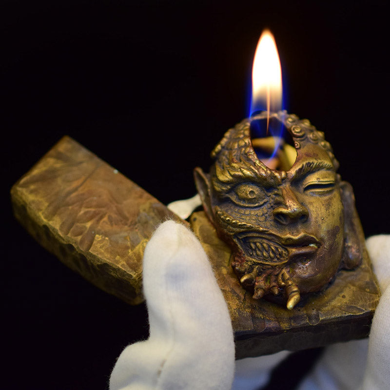 Buddha & Demon Ghost Fire Lighter - Holy Buyble