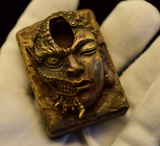 Buddha & Demon Ghost Fire Lighter Case - Holy Buyble