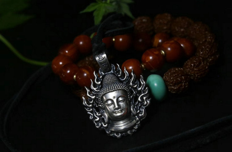 Buddha & Demon Duo Pendant - Holy Buyble