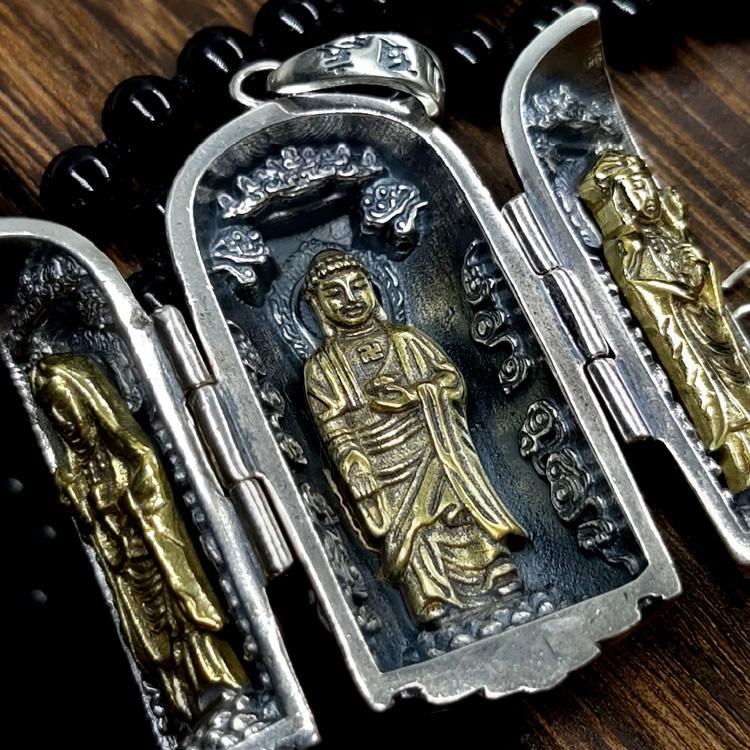 Three Sages of the West Buddha Pendant - Holy Buyble