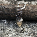 Bullet Skull Necklace - Holy Buyble