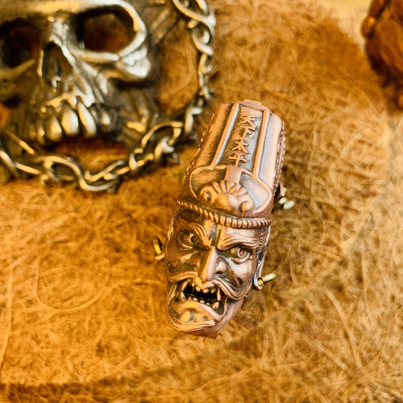 Two-faced Ghost of Impermanence Lighter Case - Holy Buyble