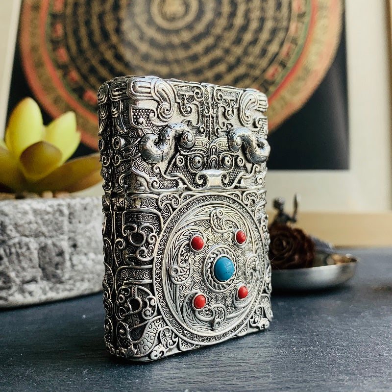 Tribal Wild Yak Lighter Case - Holy Buyble