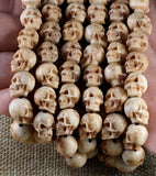 Deer Antler Demon Skull Necklace - Holy Buyble