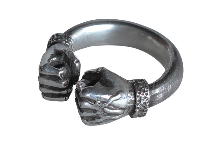 Power Fist Muscle Ring - Holy Buyble