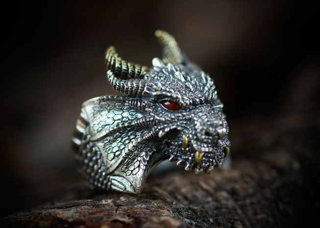 Game of Thrones House Targaryen Dragon Ring