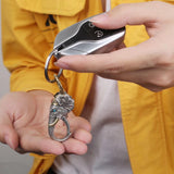 Ganesha Elephant God Key Ring
