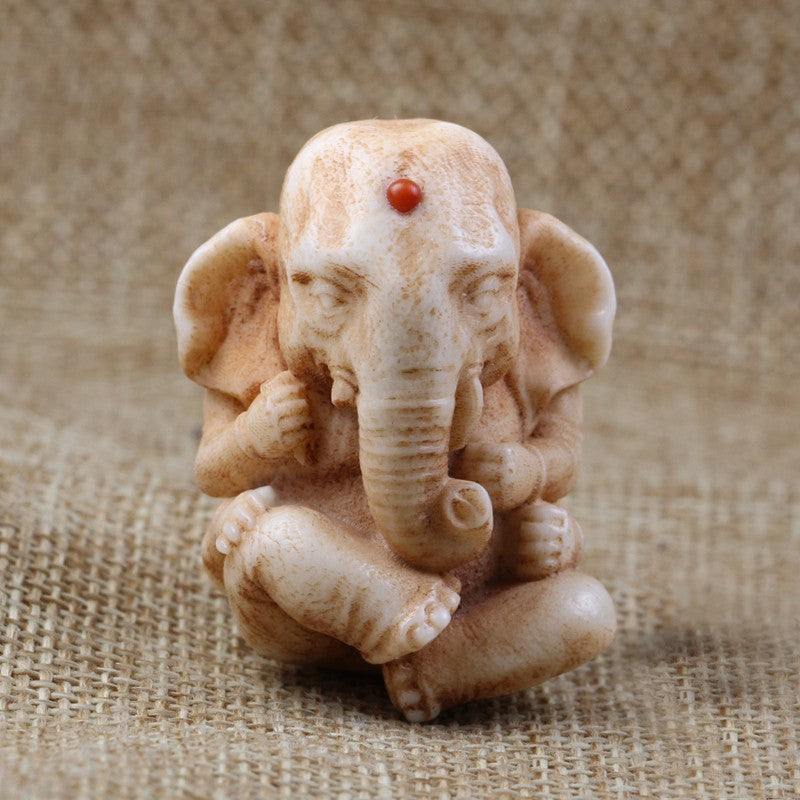 Ganesha Elephant Pendant Necklace