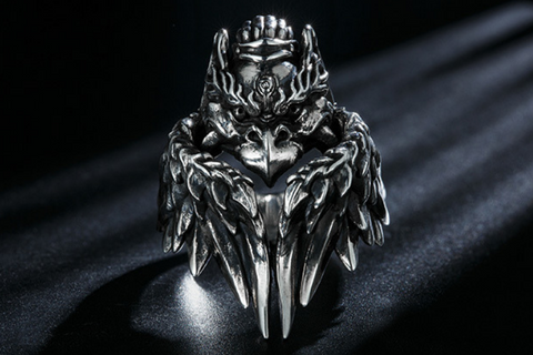 Skull Engagement Ring