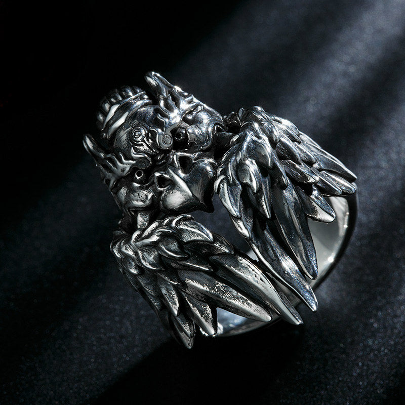 Winged Garuda Eagle Ring - Holy Buyble