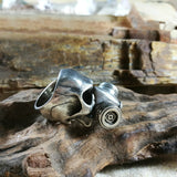 Gas Mask Skull Ring - Holy Buyble