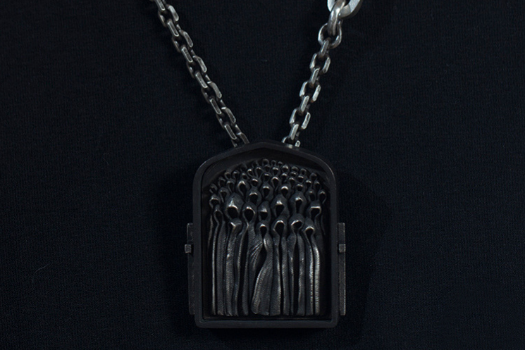 Ghost Priest Necklace - Holy Buyble