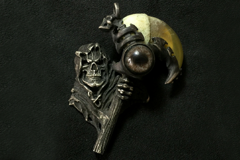 Long-armed Scarab Beetle Brooch