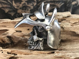 Masked Ghost Knight Silver Pendant - Holy Buyble