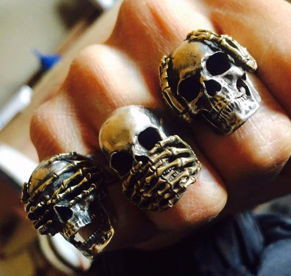 See No Evil, Hear No Evil, Speak No Evil Ring - Holy Buyble