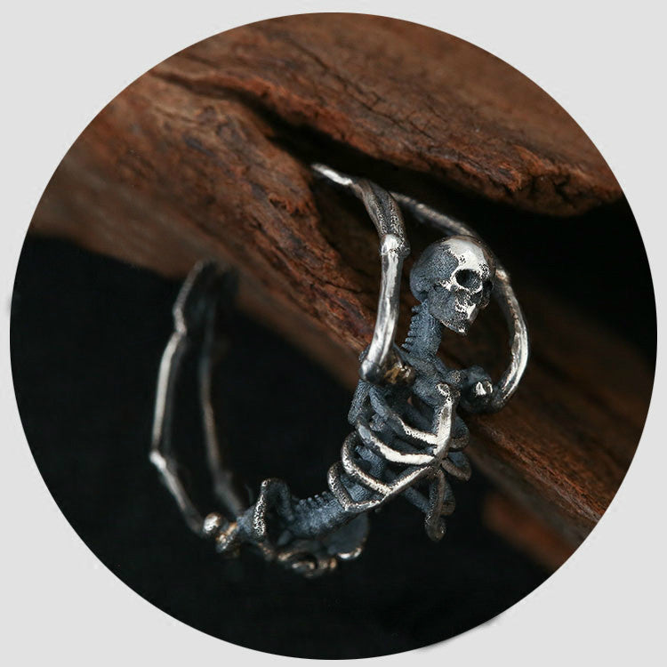 Full Skeleton Ring - Holy Buyble