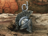 Handcrafted Silver Spartacus Pendant Necklace