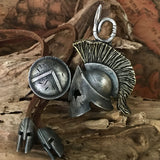 Handcrafted Silver Spartacus Pendant Necklace - Holy Buyble