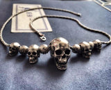 Handcrafted Skull Chain Necklace - Holy Buyble
