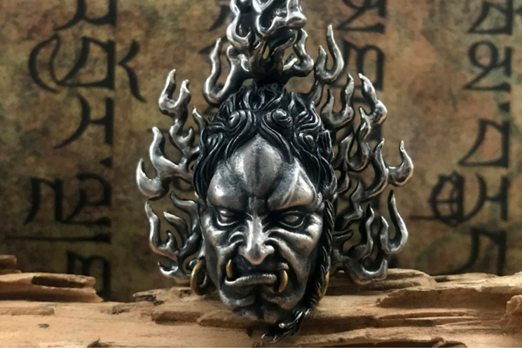 Immovable Protector Acalanatha Pendant - Holy Buyble