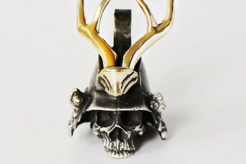 Knight Helmet Key Ring