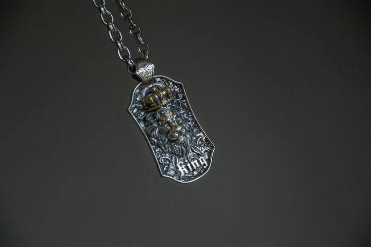 Lion Leo Pendant Necklace