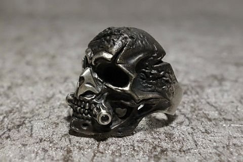 Skeleton Nightmare Master Skull Ring