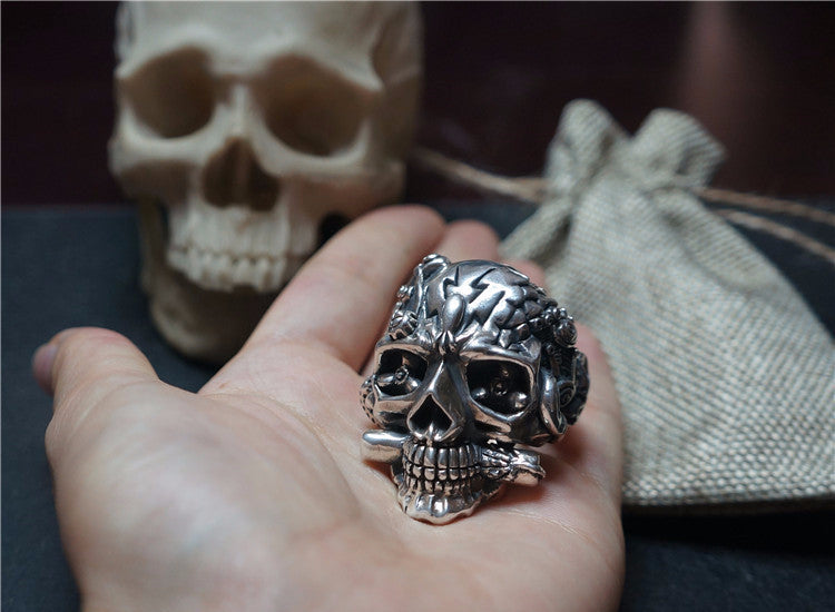 Made to Order Death Squad Skull Ring - Holy Buyble