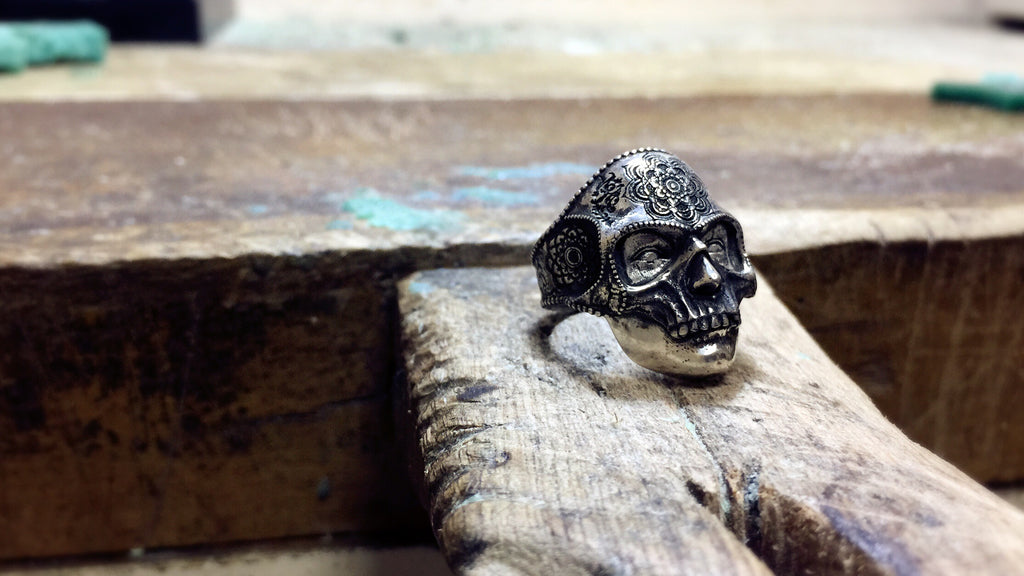 Mandala Mask Mummy Ring - Holy Buyble
