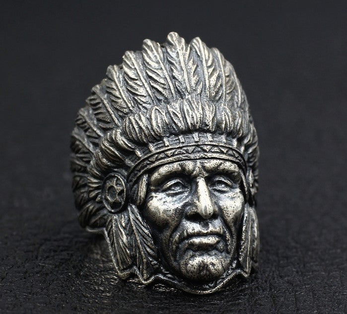 Native American Chief Ring