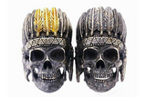 Native American Skull Ring - Holy Buyble