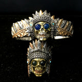 Native American Sugar Skull Bracelet - Holy Buyble