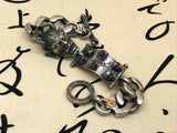 Oni Demon Sucker Silver Bracelet - Holy Buyble