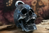 Open Jaw Silver Skull Pendant - Holy Buyble