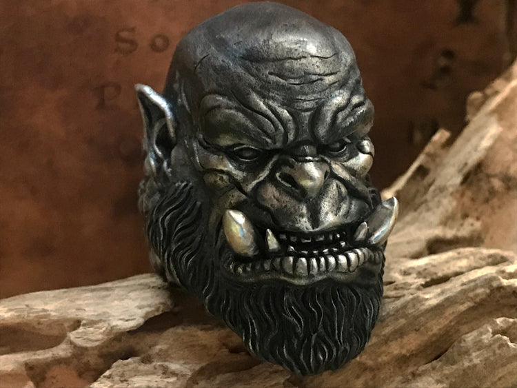 Warcraft Orgrim Doomhammer Ring - Holy Buyble