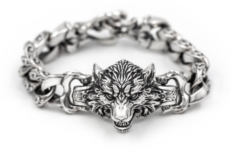 Pack Leader Wolf Bracelet - Holy Buyble