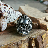 Octopus Pirate Skull Ring - Holy Buyble
