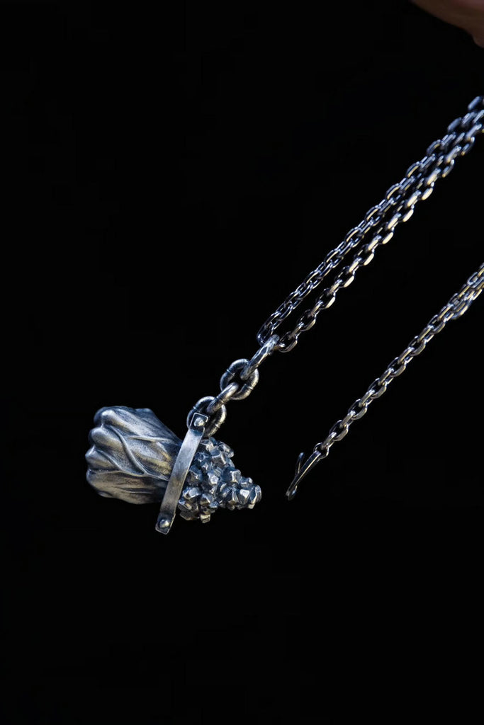 Destiny Power Fist Necklace - Holy Buyble